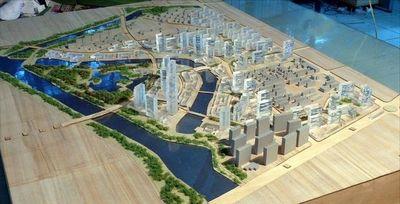 建築規劃模型