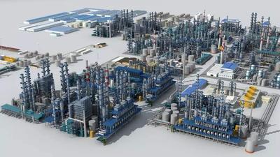 工業設備産品模型