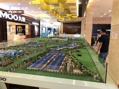 九牧展廳模型