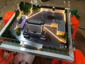 科華恒盛儲能供電展示模型