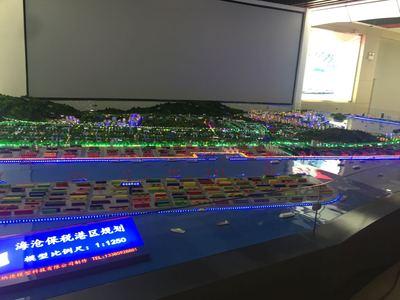 龍岩上杭鴻航科技廠區規劃模型